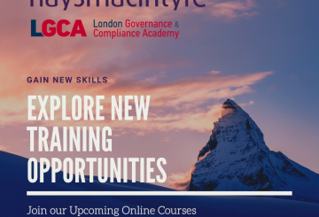 Upcoming training series in collaboration with haysmacintyre