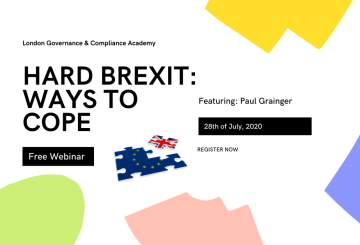 Free Webinar, HARD BREXIT: WAYS TO COPE