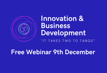 """Innovation & Business Development – """"It takes two to tango"""""""