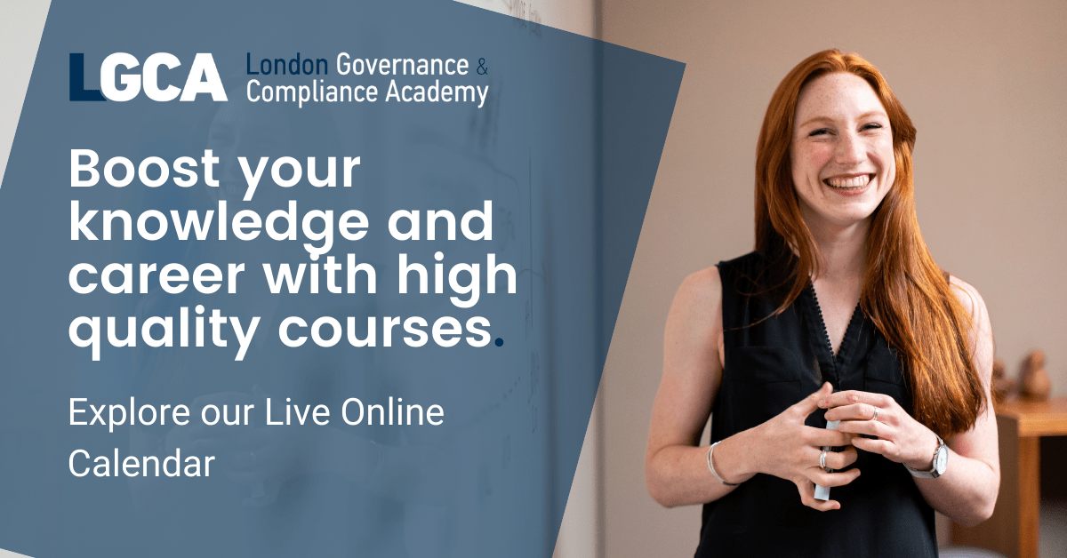 Training Calendar Live Courses by LGCA